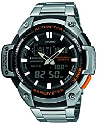 Casio Reloj de cuarzo Man Sports 52 mm
