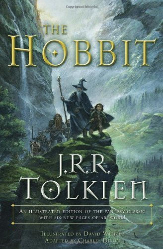 The Hobbit: An Illustrated Edition of the Fantasy Classic for sale  Delivered anywhere in UK