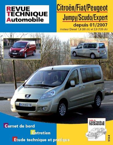 Revue Technique B728.5 Jumpy+Scudo II+Peugeot Expert II >01/07 d
