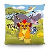 AG Design Disney Die Garde der Löwen Wand Sticker, Polyester, Mehrfarbig, 40 x 40 cm