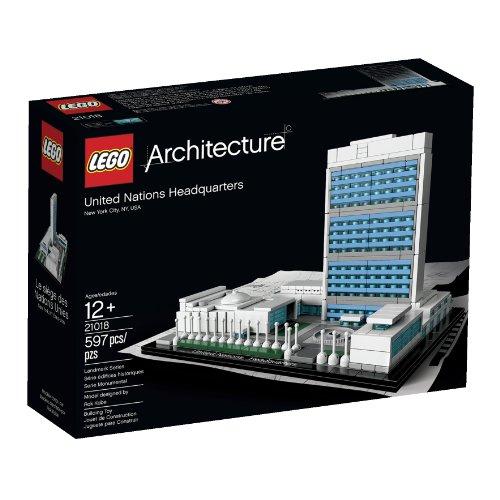 LEGO Architecture 21018 United Nations Headquarters Lego architecture char ke...