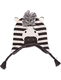 Bonnet Enfant Hiver, Tyidalin Chapeau Tricoté Earflaps Polaire Chaud pour  Garçon Fille Protection Oreille 1aaa55a7436