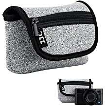 JJC - Funda para cámara Sony RX100 RX100 II RX100 III RX100 IV RX100 V RX100 Vi Olympus TG-5 TG-4-TG-3 Canon G7X SX720 Panasonic TS30 Ricoh GR II