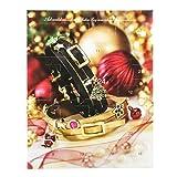 Schmuck-Adventskalender mit 2 Wickelarmbändern, Ansteckern & Perlen