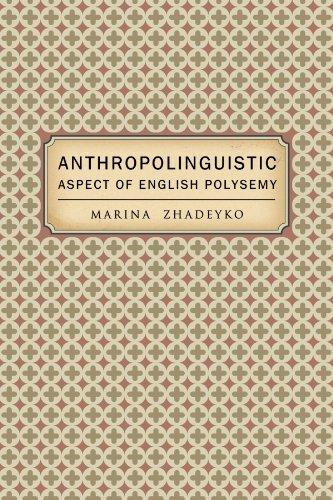 Anthropolinguistic Aspect of English Polysemy