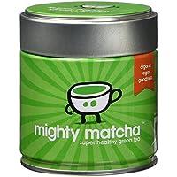 Mighty Matcha - Té Verde Matcha Orgánico  - Ganador Premio De Oro Great Taste Natural Ecológico Vegano Altisima Calidad, Antioxidante Adelgazante Limpieza Del Cuerpo – 30g En Polvo