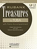 Rubank Treasures for Tuba: Book with Online Audio (Stream or Download)
