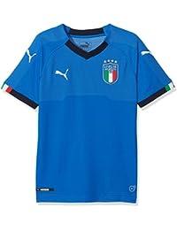 d77f4f65dc1 Puma 752284 01 Camiseta, Niños, Power/Azul Oscuro, ...