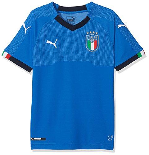 8defa3777fa Puma Figc Italia Home Replica Short Sleeve Shirt - Team Power Blue/Peacoat,  Size