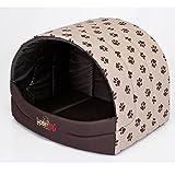 N HOBBYDOG BUSBWL2R2 Souffleur Hundehöhle Katzenhöhle Hundebett Katzenbett Hundehaus Schlafplatz Hundekorb Hund Haus Hundehütte S-XL M (50 x 38 cm)) …
