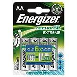 Energizer 2300mAh AA Accu Recharge Extreme Batterien, 4Batterien Originalverpackung