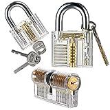 UEETEK 3 Imposta pratica blocco e chiavi,formazione Crystal - Best Reviews Guide