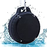 Altavoz Bluetooth, Walier Altavoces Bluetooth Portatil Subwoofer Impermeable, IPX5 Resistente al Agua, Soporte para Tarjeta TF, Micrófono Incorporado para iPhone, Samsung,Tablet, PC ect