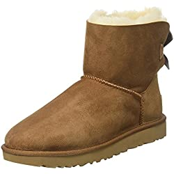 ugg australia women's mini bailey bow slip boots - 51e0TAl3mDL - UGG Mini Bailey Bow, Women's Winter Boot