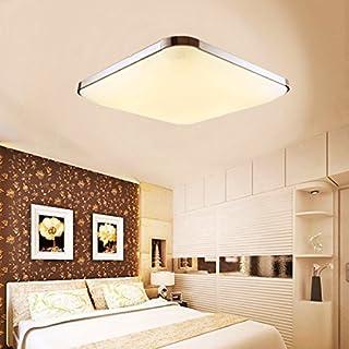 Modern LED ceiling light 12W Ceiling lamp Ultra Slim Flush Ceiling Light for Bathroom, Kitchen, Hallway, Office, Corridor, Flush Ceiling Light, Bath Ceiling Lights 30cm*30cm