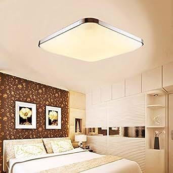 azerogo 12w led deckenleuchte modern deckenlampe ultraslim flur wohnzimmer lampe wandleuchte. Black Bedroom Furniture Sets. Home Design Ideas