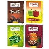 Aafreen Hookah Molasses Chocolate, Double Apple, Pan Rasila and Grape Mint Flavours Combo