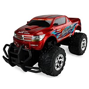 RC US Monster Truck Ingles Warrior remote controlled car SUV pick up huge tires - all inclusive!