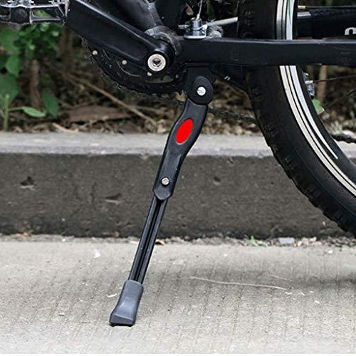 FAEIO Soporte de Bicicleta Aleación de Aluminio Ajustable Bastidores de estacionamiento Soporte Soporte Soporte de pie Piezas de Ciclismo Componente de Soporte de Soporte de Bicicleta de Carretera