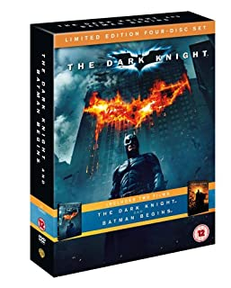 The Dark Knight and Batman Begins (Double Pack)[DVD] (B001GMALGO) | Amazon price tracker / tracking, Amazon price history charts, Amazon price watches, Amazon price drop alerts