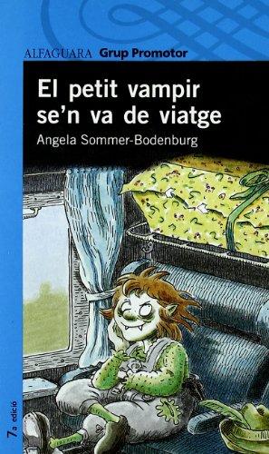 Portada del libro El Petit Vampir Se'N Va de Viatge