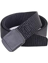 VORCOOL Cinturón de Hebilla de Nylon Casual para niños al Aire Libre Cinturón de Cintura Cinturón de Hebilla de liberación rápida