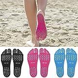 Squarex Fußpads, zum Aufkleben auf die Sohlen, leicht, sanft 5 UK/ 40-43 EU hot pink