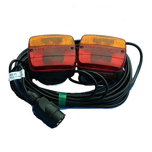 Rücklichter, magnetisch, Lichtleiste für Anhänger, - Magnetische Anhänger
