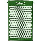 Salveo Akupressur-Matte mit kostenloser Tragetasche - grün medium 68x42cm