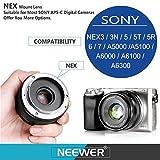 Neewer NW-E-50-2.0 50mm f/2.0 Manueller Fokus Prime - 4