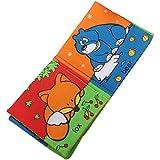 TOOGOO(R) Livre tissu bebe enfant intelligence cognitive education mot anglais peinture jouet