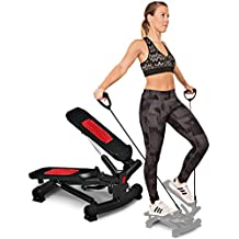 Sportstech Twister Stepper 2 en 1 Cuerdas de Resistencia - STX300 Escaladora y Swing Stepper para