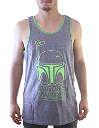 Star Wars Bobba Fetted Logo Tank Top Shirt