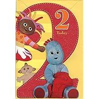 In The Night Garden Age 2 Birthday Card