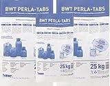 3 er Set BWT PERLA TABS Regeneriersalz 25 Kg