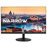 HKC 20A6 20 Zoll (50.80 cm) Full HD 1920x1080 Frameless LED Monitor, HDMI, VGA – Schwarz