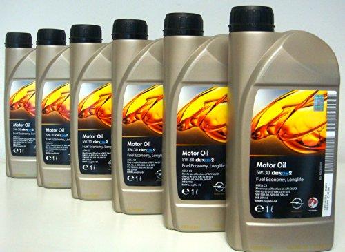 general-motor-oil-5w30-dexos-2-fuel-economy-long-life-6-barattoli-da-1-litro-euro-lt-880