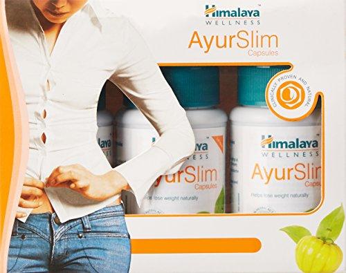 Himalaya Herbals AyurSlim 60 Capsules (Pack of 3)