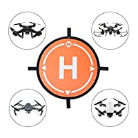"Holy Stone Drone Landing Pad 21.65""/55cm Waterproof Universal Portable Fast-Fold Accessory for All Drones& More Quadcopter Helicopter"