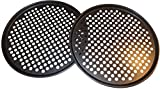 Lot de 2 plats à pizza avec trous 33 cm � Ensemble de professionnel pour type de restaurant Pizza Maison Grill barbecue