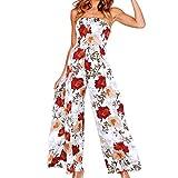 Pantalons Femmes Elegant Oversize Casual Pinte Sarouel Pantalons Ample Combinaison Grand Taille Robe Mode