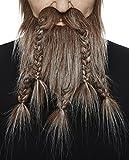 Brown with gray viking, dwarf beard
