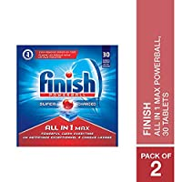 Finish All in 1 Max Powerball, 30 Tablets (Pack of 2)