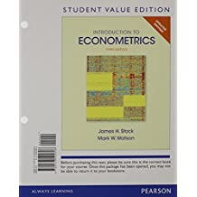 Introduction to Econometrics, Update, Student Value Edition Plus New Myeconlab with Pearson Etext -- Access Card Package