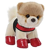 Gund BOO 13 cm Plush - Itty Bitty Boo Rain Boots and Harness