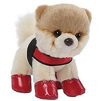 Gund BOO 13 cm Plush - Itty Bitty Boo Rain Boots and Harness