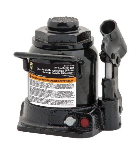 Omega 10209b Noir Shorty Bouteille hydraulique Jack – Capacité 20 tonnes