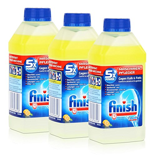 Calgonit Finish Spül-Maschinen-Pfleger Citrus 5xPower 250ml (3er Pack)