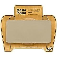 Reparador Cuero, Polipiel y Skai - Parches en Varios Colores - MastaPlasta - Rectangulo Grande (200x100mm) (Beige)