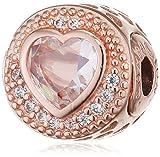 Pandora Damen-Bead Charms zirkonia - 786302CZ, Rosa